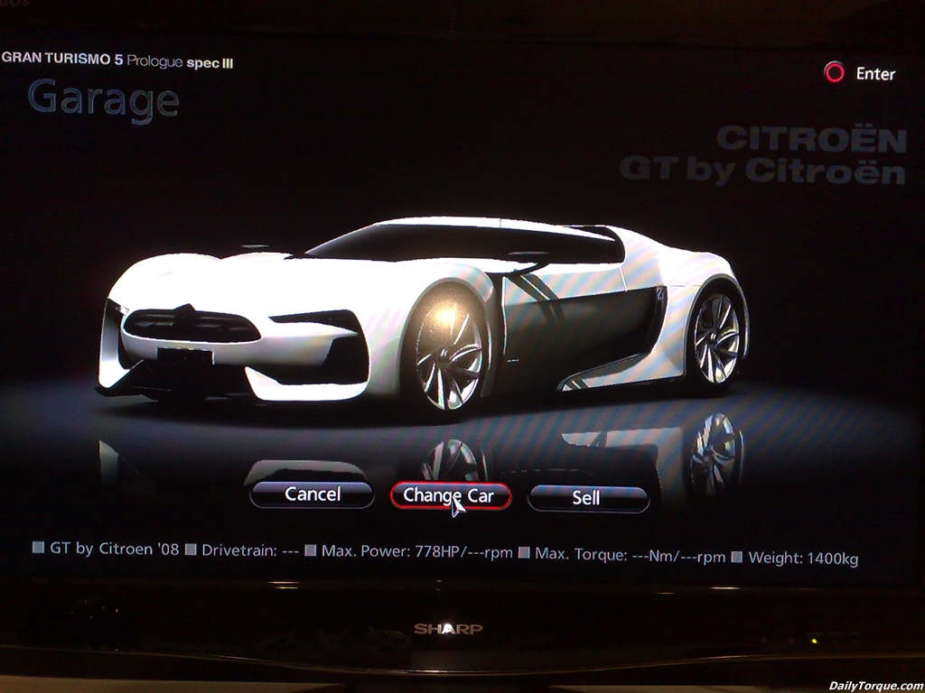 Updated - Citroen GT