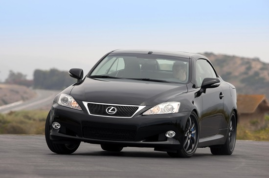 Lexus have just released their 2010 Model of this Lexus IS 250C and a more