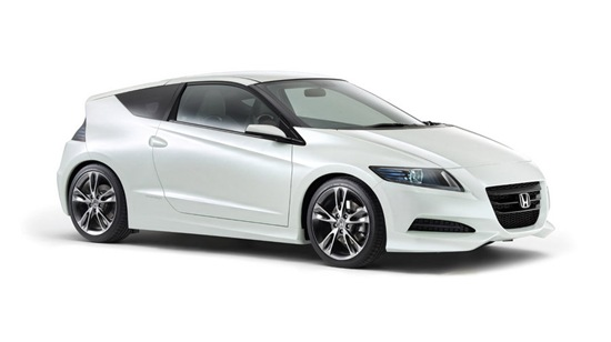 Honda Cr Z. As the name mentioned CR-Z