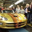 The Last Dodge Viper Comming off the Production Line