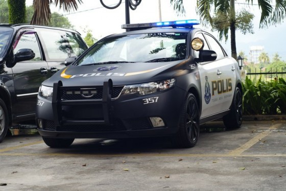 Driven Cars  Kia Forte For The Malaysian Police
