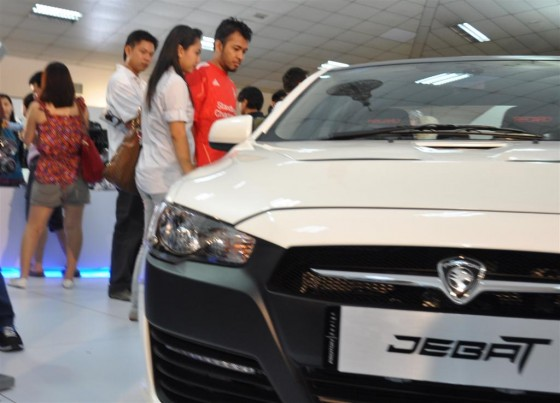 Proton Jebat Concep Design is base on the recently launched Proton Inspira