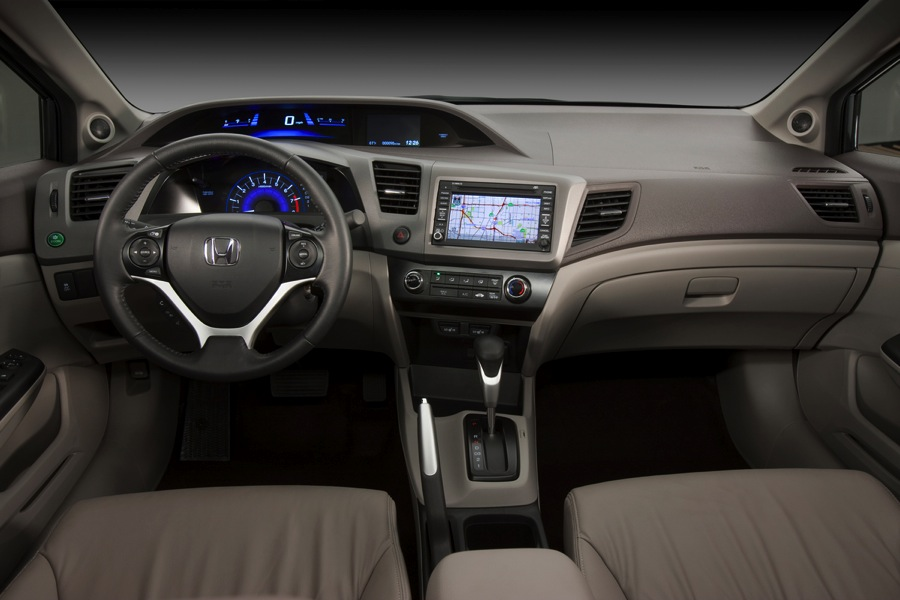 2012 civic si interior. 2012 Honda Civic