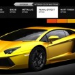 Lamborghini Aventador LP 700-4 Customizable Website and Promo Video