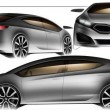 2012 Kia Forte being Sketch