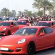 Porsche Police Car on Qatar National Day