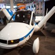 Flying Car Exhibite in New York Auto Show